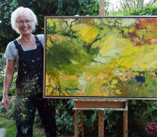 Nye malerier i Atelier Underground